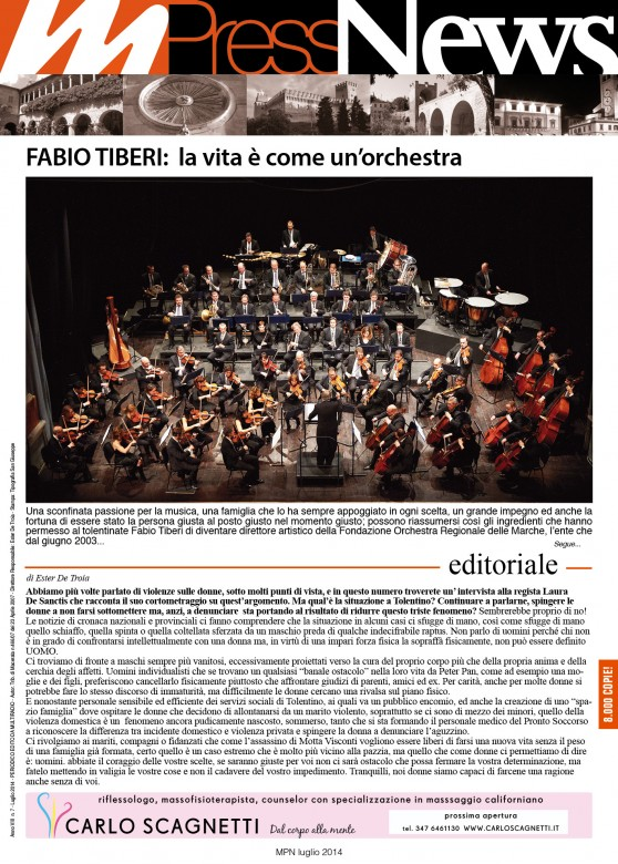 Multiradio Press News - luglio 2014 - prima pagina