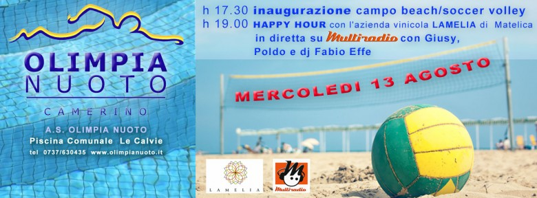 Multiradio in diretta dalle piscine Olimpia di Camerino mercoledì 13 dalle 17