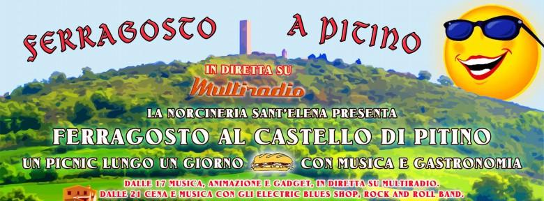 Ferragosto a Pitino (San Severino Marche) con Multiradio