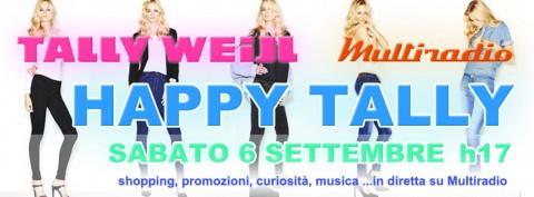 Hattpy Tally - sabato pomeriggio in diretta su Multiradio - sabato 6 settembre