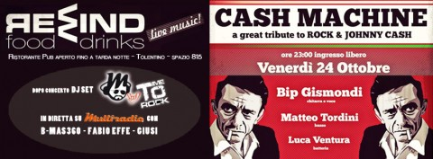 Multiradio - Time to Rock al Rewind venerdi 24 ottobre