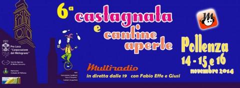 Multiradio in diretta dalla Castagnata e Cantine aperte Pollenza