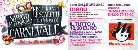 Carnevale Potenza Picena - Multiradio 14 febbraio