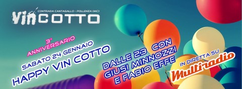 3° anniversario Vin Cotto - Pollenza (Macerata) - 24 gennaio 2014