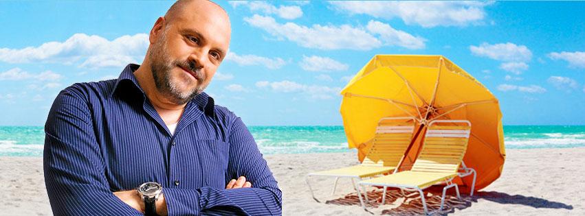 Roberto Bagazzoli - Baga on the beach!