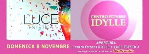 domenica 8 novembre - inaugurazione IDYLLE - Treia - in diretta su Multiradio